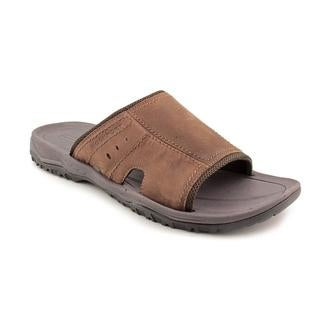 Rockport Men's 'Sleek Slide' Leather Sandals - Wide