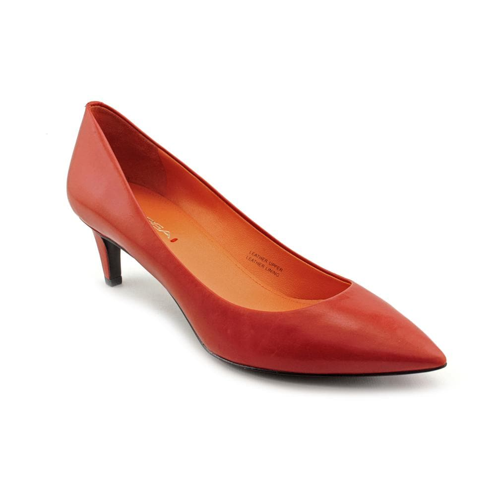 Via Spiga Women's Red 'Angie' Leather Dress Shoes