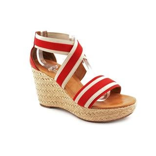 Paul Green Women's 'Monique' Red Basic Textile Sandals