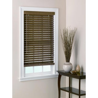 Bamboo Blinds 2-inch Slats in Chestnut