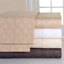 Celeste Home 410 Thread Count Pima Cotton Dobby Sheet Set