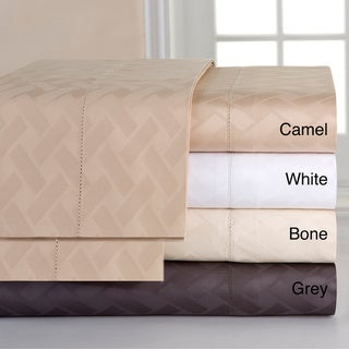 Celeste Home 410 Thread Count Pima Cotton Jacquard Sheet Set