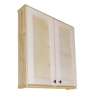 Shaker Series 30-inch Double Door On the Wall 5.5-inch Deep Cabinet