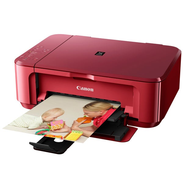 Canon PIXMA MG3520RED Inkjet Multifunction Printer - Color - Photo Print
