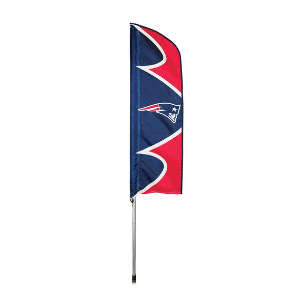 Patriots Swooper Flag And Pole