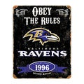 Baltimore Ravens Vintage Sign