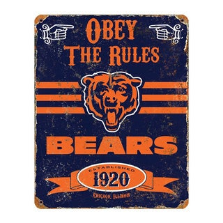 Chicago Bears Vintage Sign