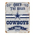 Dallas Cowboys Vintage Sign