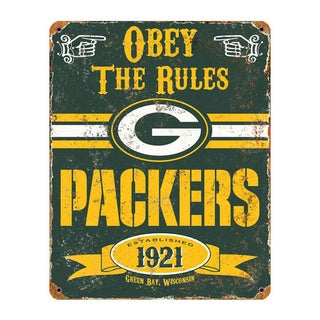Green Bay Packers Vintage Sign