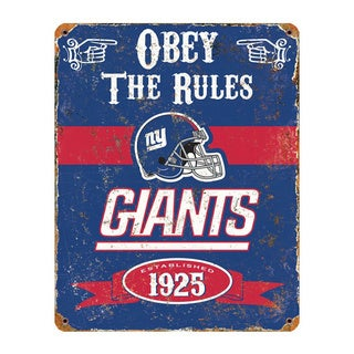 NY Giant Vintage Sign
