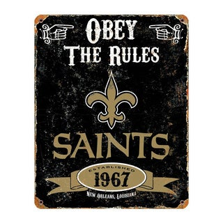 New Orleans Saints Vintage Sign