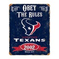 Houston Texans Vintage Sign