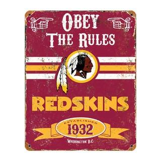 Washington Redskins Vintage Sign