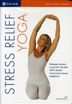 Stress Relief Yoga For Beginners (DVD)