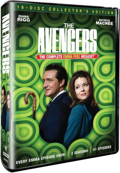 The Avengers: The Complete Emma Peel Megaset (DVD)