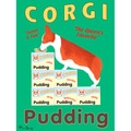 Ken Bailey 'Corgi Pudding' Paper Print (Unframed)