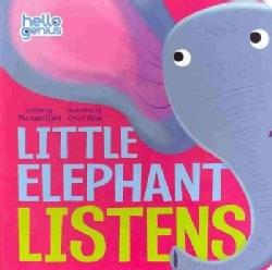 Little Elephant Listens (Board book)