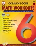Common Core: Math Workouts, Grade 6 (Paperback)