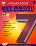 Common Core Math Workouts: Grade 7 (Paperback)
