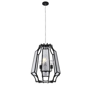 Varaluz Go-Go 3-light Black Pendant
