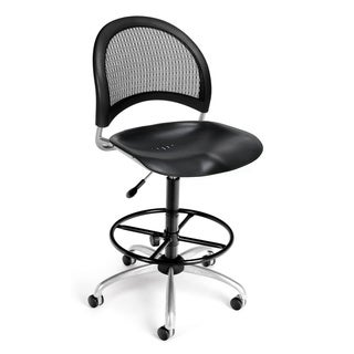Moon Series Plastic Task Chair