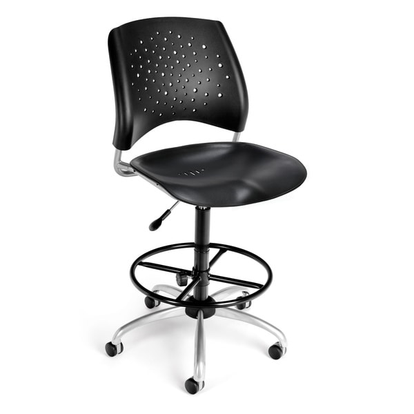 Ofm Star Series Plastic Drafting Chair 15560891