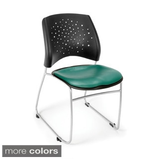 Stars Series Vinyl Stacking Chair (Pack of 4)