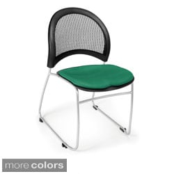OFM Moon Series Stacking Chairs (Pack of 4)