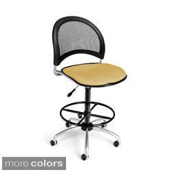 Moon Series Swivel Drafting Stool