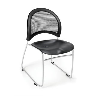 Moon Series Plastic Stacking Chair