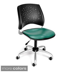 Stars Series Vinyl Drafting Chair