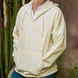 Men's Cotton 'Grand Nature' Hoodie Pullover (Guatemala)