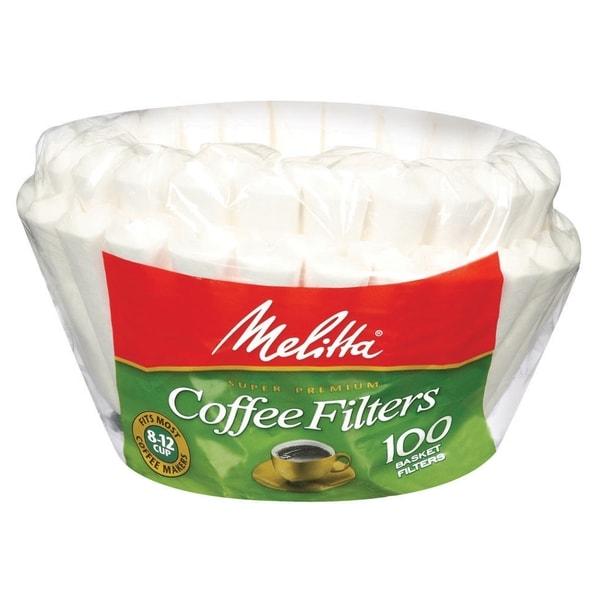 Melitta Basket Coffee Filter in White (Set of 100) 11518138