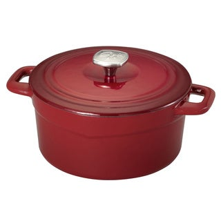 GUY FERRI 3.5QT CAST IRON DUTCH OVEN RED