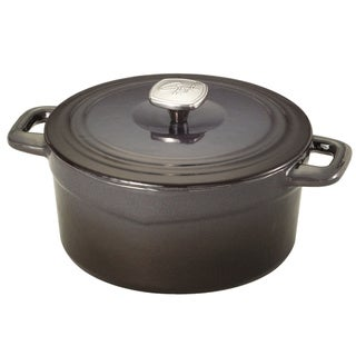 Guy Fierri Cast Iron Graphite 3.5 Quart Dutch Oven