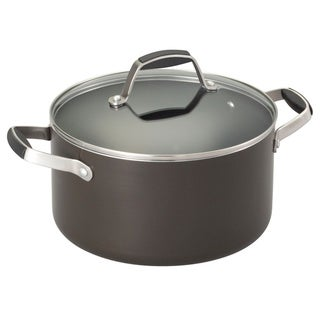 Guy Fieri Non Stick Aluminum 5.5 Dutch Oven Graphite