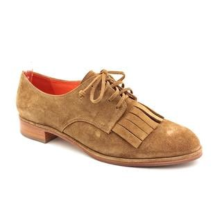 Via Spiga Women's 'Iggy' Tan Regular Suede Casual Shoes
