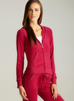 BJEWEL Magenta French Terry Hoodie