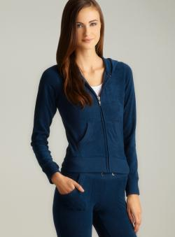 BJEWEL Royal Blue French Terry Hoodie