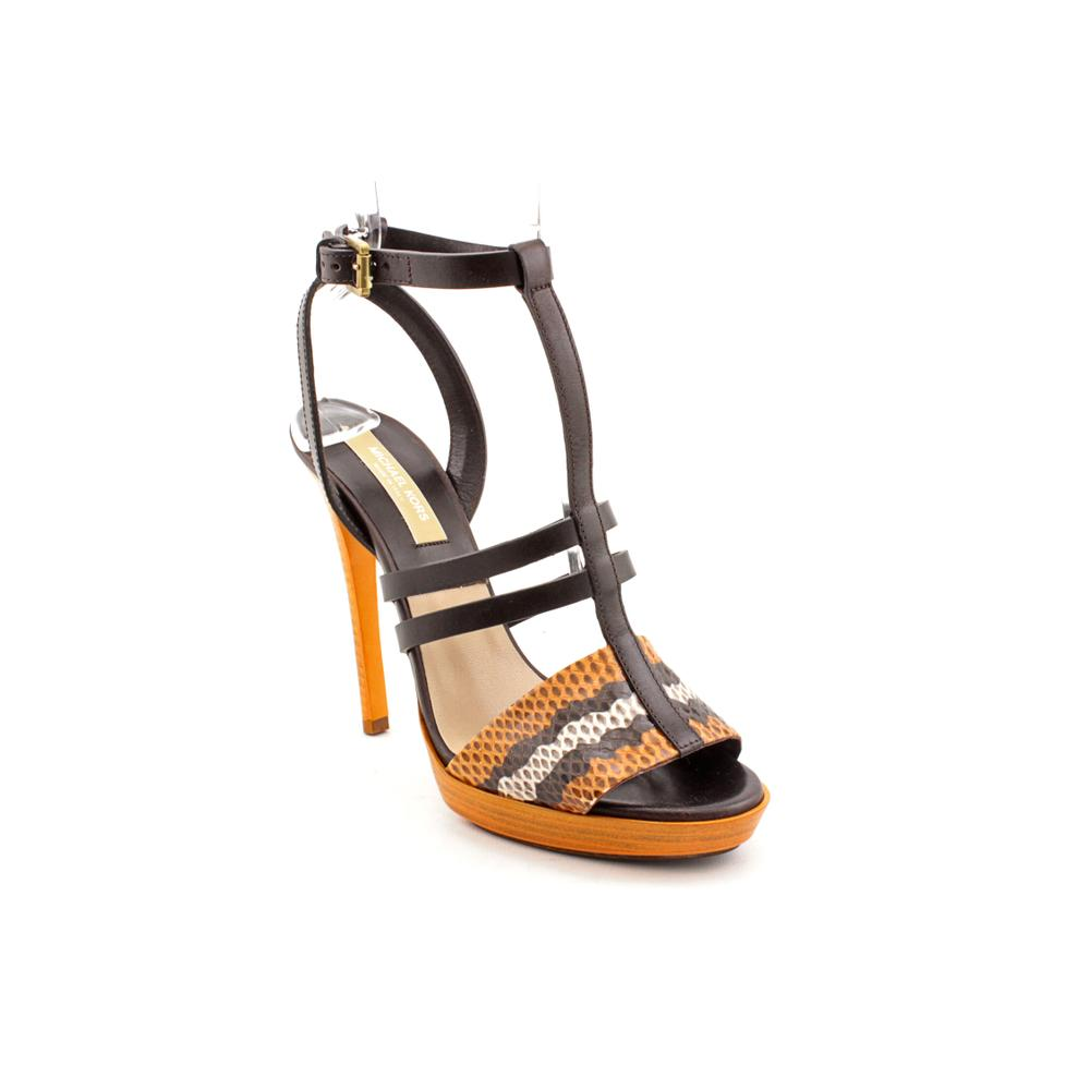 Michael Kors Women's 'Ayers' Leather Sandals (Size 8 )