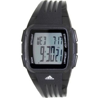 Adidas Men's Response ADP6002 Black Polyurethane Quartz Watch with Digital Dial