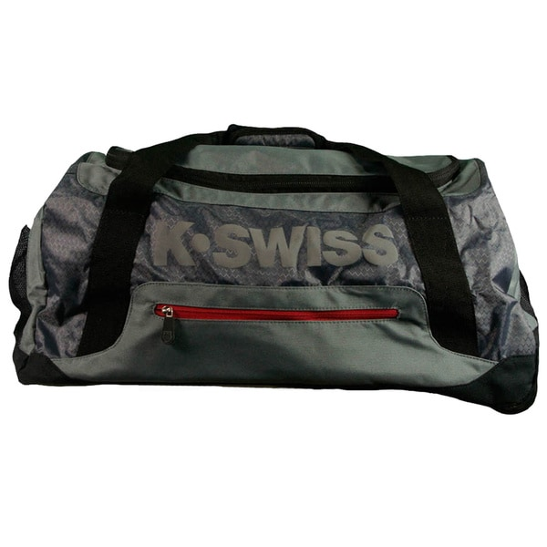 K-Swiss Tech Sport Collection Rolling Duffle Bag