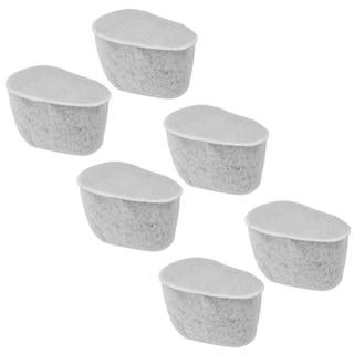 Krups F472 Duo Replacement Charcoal Water Filters- Set of 6 Total Filters
