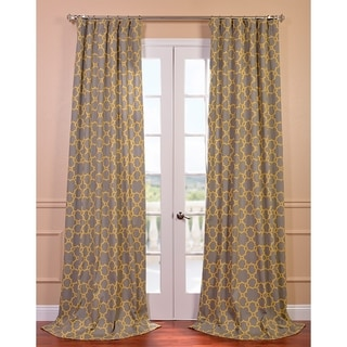 Marabella Printed Cotton Curtain Panel