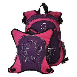 Obersee Munich Star School Backpack with Detachable Lunch Cooler