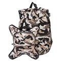 Obersee Munich Camo School Backpack With Detachable Lunch Cooler