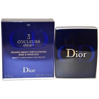 Dior 3 Couleurs #781 Smoky Brown Eye Palette Trio