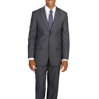Caravelli Italy Men's Super 2-button Grey Suit