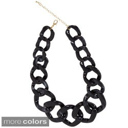 NEXTE Jewelry Lucite Cuban Link Necklace