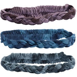 Braided Organic Cotton Yoga Headband (Nepal)